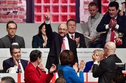 Allemagne: Martin Schulz élu à l'unanimité à la tête du parti social-démocrate