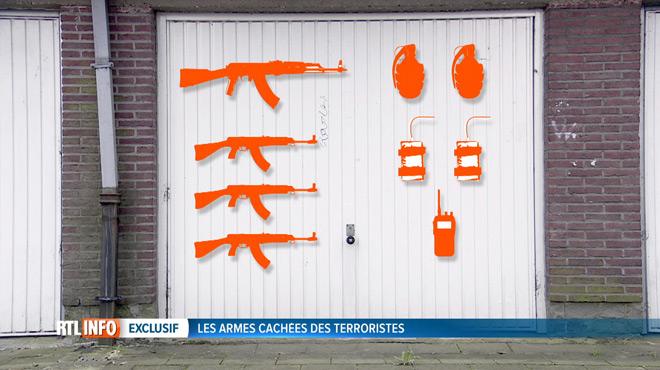 Les terroristes de Bruxelles ont caché un véritable arsenal: voici ce qu'il contient et à qui il était destiné