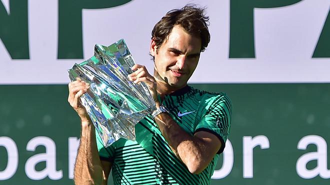 Roger Federer est à nouveau le meilleur joueur de tennis du monde...