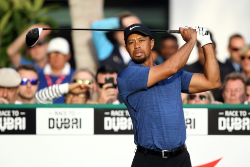 Golf: Tiger Woods