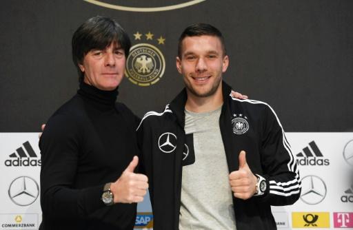 Lukas Podolski a fait des adieux parfaits — Amical
