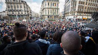 22 MARS, UN AN- unis dans le souvenir des attentats de Bruxelles (les moments forts en vidéo) 4