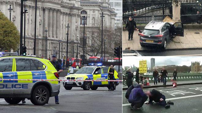 Un homme fonce sur des passants avant de poignarder un policier à Londres- l'assaillant abattu, l'attaque a fait 3 morts et plusieurs blessés 1
