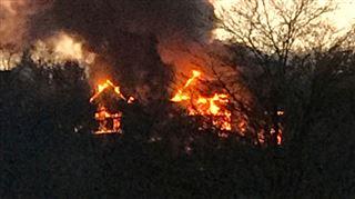Le Golf Hotel de Balmoral, à Spa, est parti en fumée- il pourrait s'agir d'un incendie criminel (photos) 2