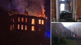 Le château de Chokier a été ravagé par les flammes ce matin- voici à quoi il ressemble désormais 2