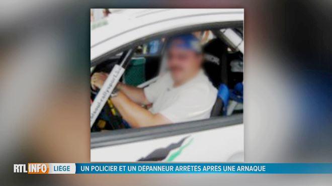 Un policier liégeois ripou arrêté ce matin- Franco s'enrichissait par des combines, notamment avec un dépanneur 1