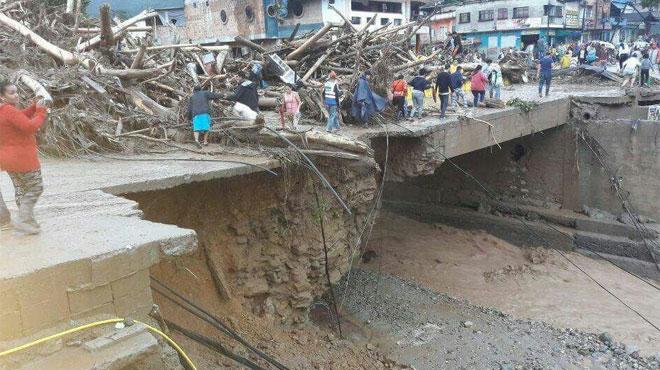 Colombie Au moins 92 morts dans un glissement de terrain