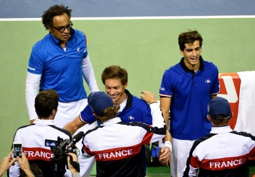 Le Loonois Lucas Pouille numéro un de l'équipe de France — Coupe Davis