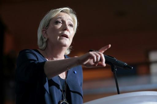 Pour Marine Le Pen la France