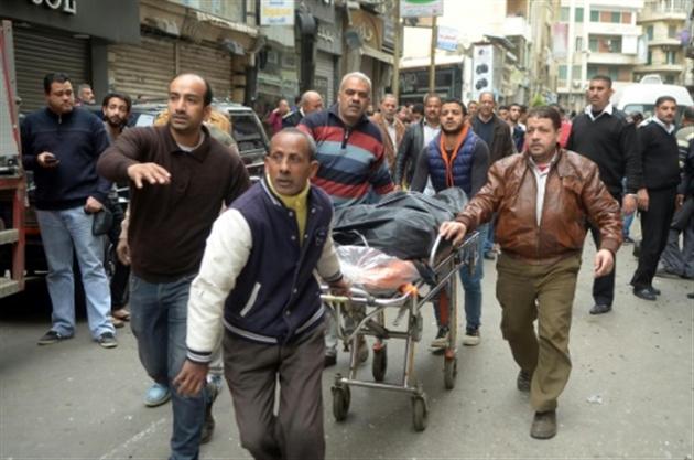 Deuxième explosion devant une église à Alexandrie (vidéo) — Attentat Egypte