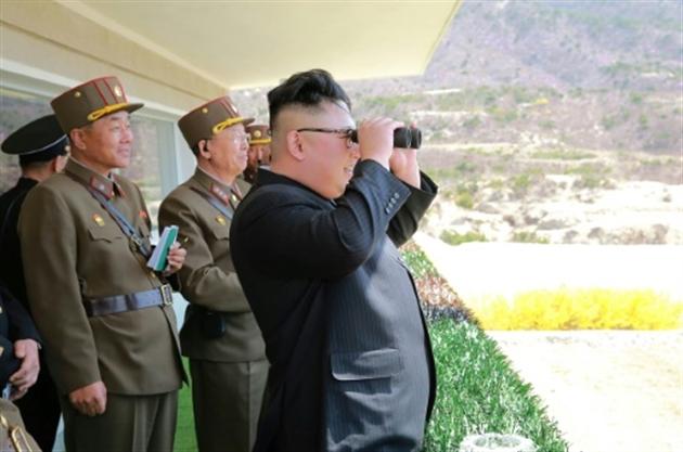 Tir de missile raté, une