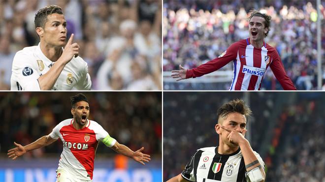 La Juventus et Monaco dans le dernier carré — Ligue des champions