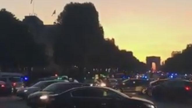 La fusillade sur les Champs-Elysées revendiquée par Da'ech