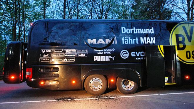 L'auteur présumé de l'attaque sur le bus de Dortmund a été arrêté: il avait un plan pour s'enrichir