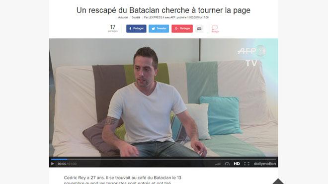 Cédric avait affirmé qu'une femme enceinte avait pris des balles à sa place au Bataclan: qui sont les imposteurs des attentats?