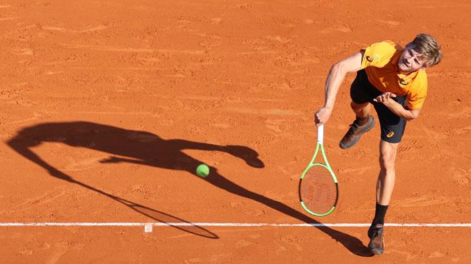 David Goffin bat Djokovic et file en demi-finales du tournoi de Monte Carlo