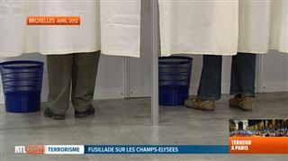 Attaque sur les Champs-Elysées- les mesures de sécurité des bureaux de vote pour les Français en Belgique vont-elles être renforcées?