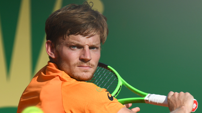 David Goffin contre Nikoloz Basilashvili au 2e tour — ATP Barcelone