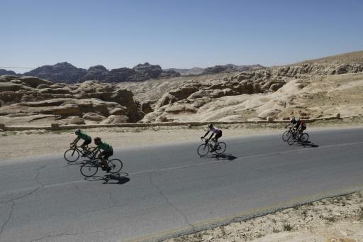 Des cyclistes courent pour la paix au Proche-Orient