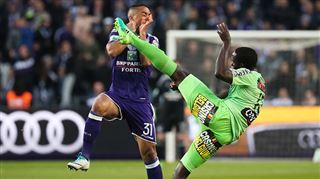 Play-offs 1- Charleroi s'impose par KO à Anderlecht et se met à rêver de l'Europe 2