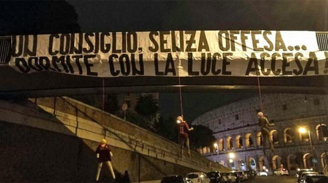 Macabre avertissement pour les joueurs de la Roma