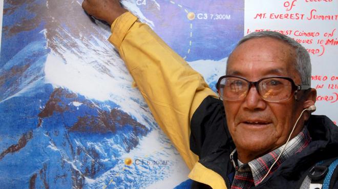 Népal : à 85 ans, il meurt en voulant gravir l'Everest