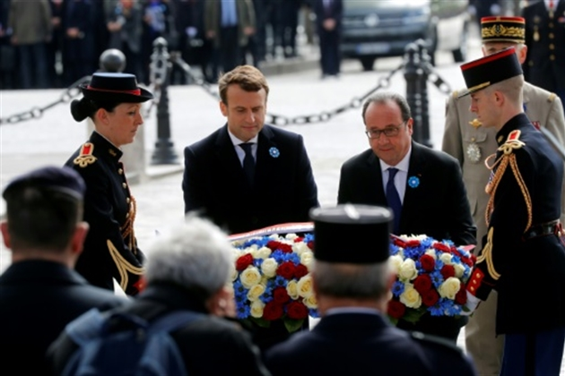 Macron ménage Valls — Législatives