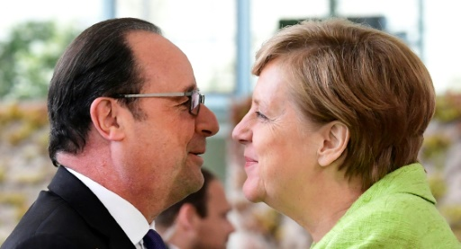Pour Merkel, Macron porte les espoirs