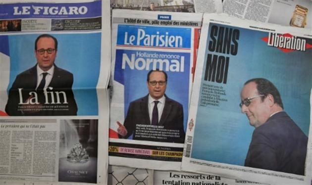 VIDÉO | Macron et Hollande en balade: la petite conversation entre présidents