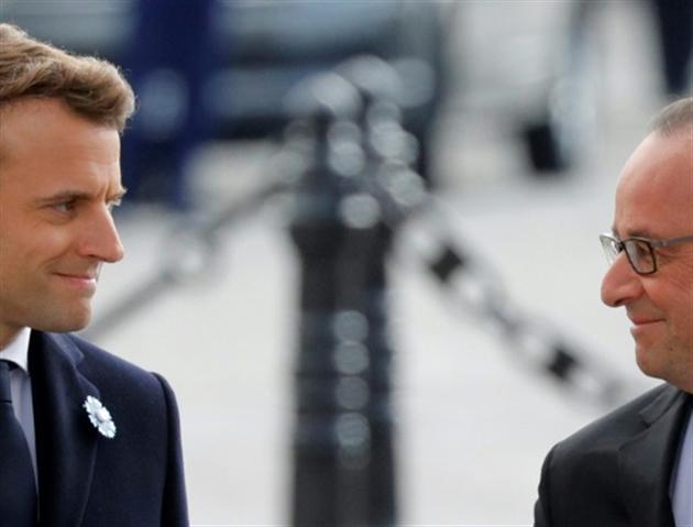 Une passation de pouvoir sans Brigitte Macron