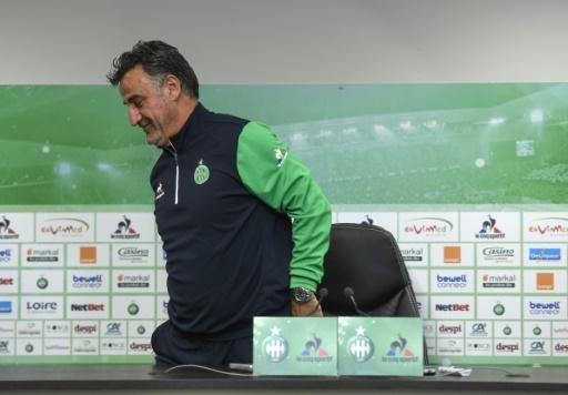 L1 - Saint-Etienne confirme le départ de l'entraîneur Christophe Galtier