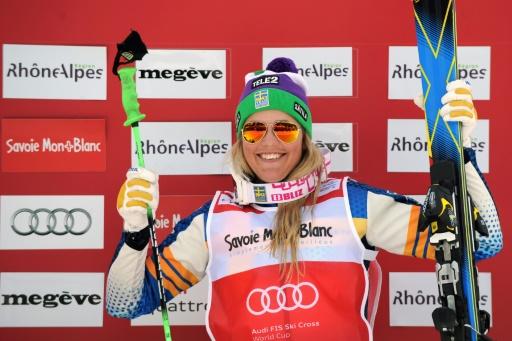 Anna Holmlund reparle après un long coma dû à une chute — Skicross
