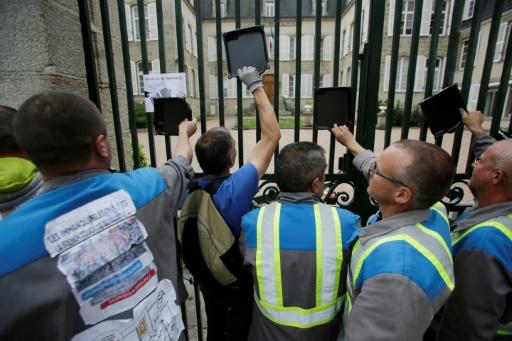 Marche de soutien aux salariés GM&S, les regards tournés vers Macron — Creuse