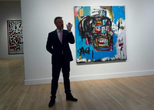 Record pour un tableau de Basquiat, vendu 110,5 millions de dollars