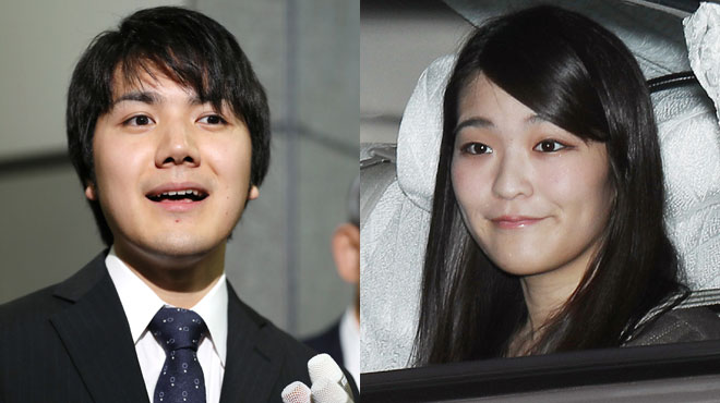 Les fiançailles de ce couple inquiètent le Japon