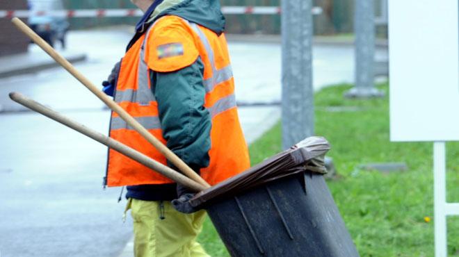 Le service propreté d'Ixelles en grève: