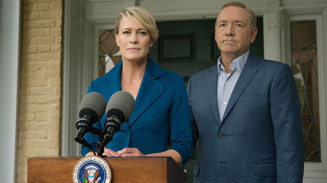 Robin Wright (House of Cards): Donald Trump