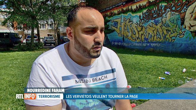 Si un djihadiste de l'EI revient à Verviers, que feront les jeunes de la ville? Nourredine est catégorique