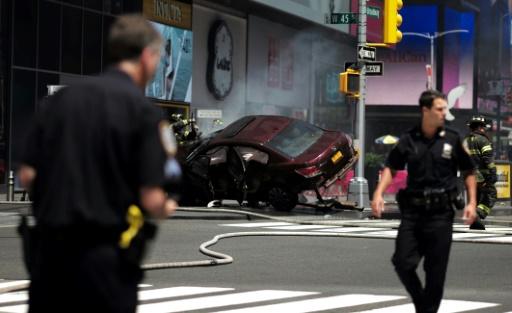 Times Square: le chauffard, inculpé de meurtre, a des troubles mentaux