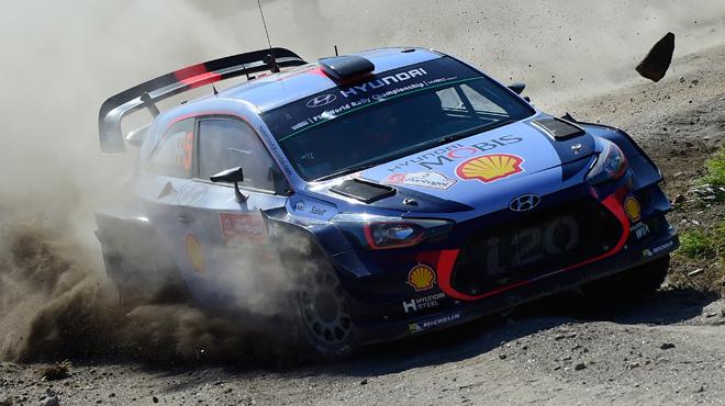 Rallye du Portugal: Thierry Neuville reste en embuscade