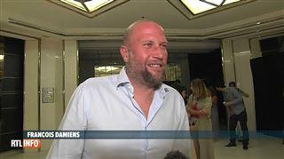 François Damiens en très grande forme pour présenter son nouveau film à Cannes- J'ai l'impression d'être au crématorium