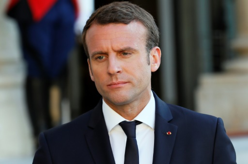 Macron dit sa