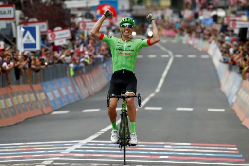 Victoire du Français Pierre Rolland — Giro