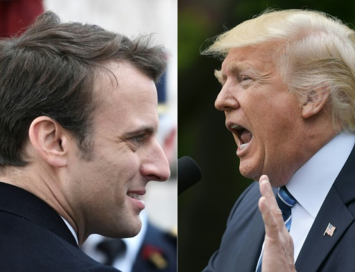 Un entretien constructif entre Trump et Macron