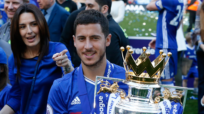 Pour les fans, Hazard est le meilleur joueur de la saison — Chelsea