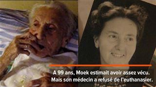 Moek, 99 ans, avale les médicaments devant la conduire vers la mort- son fils filme ses derniers instants pour prouver qu'elle était consciente 3