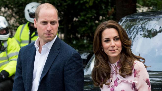 Surmenée, leur gouvernante démissionne — Kate et William