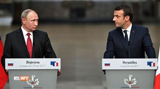 Dix ans après avoir humilié Sarkozy, Poutine a-t-il croqué Macron à Versailles? 3