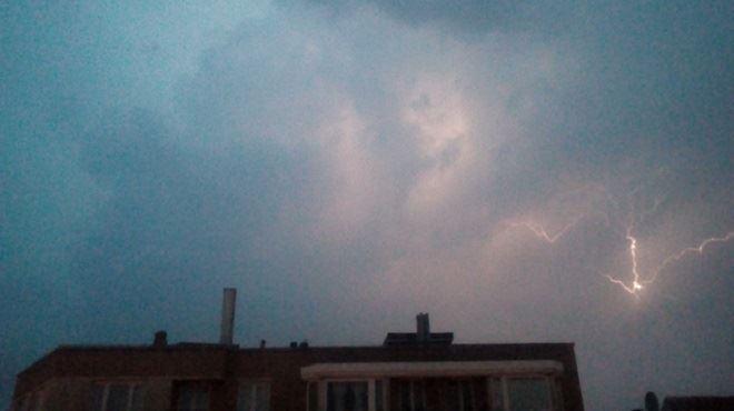 La canicule se termine... avec une alerte orages, averses et grêle sur tout le pays 1