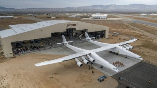 Un avion géant financé par le cofondateur de Microsoft dévoilé